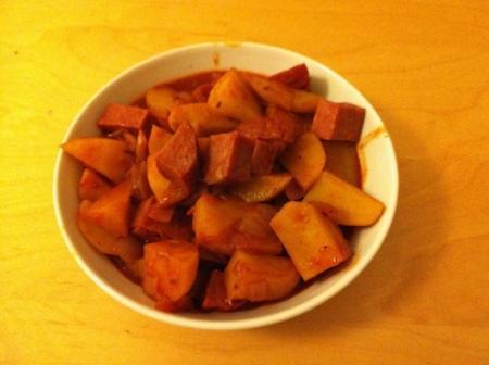 Potato goulash